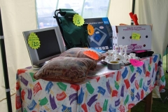 Our sale table.
