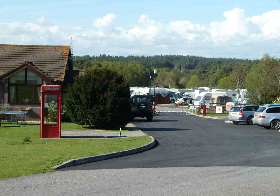 Birchwood Touring Park 8th to 11th October