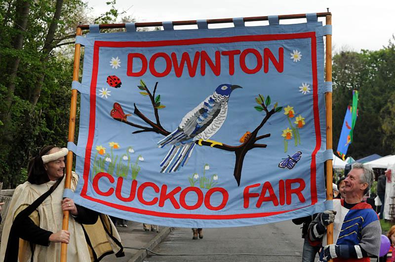 Cuckoo Fair Downton 30th April to 3rd May