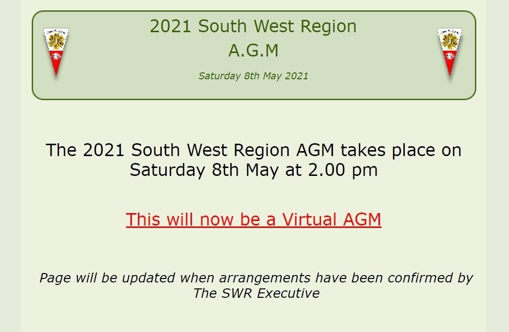 South West Region AGM